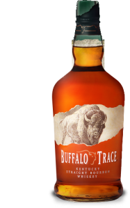 Buffalo Trace distilling's namesake bourbon.